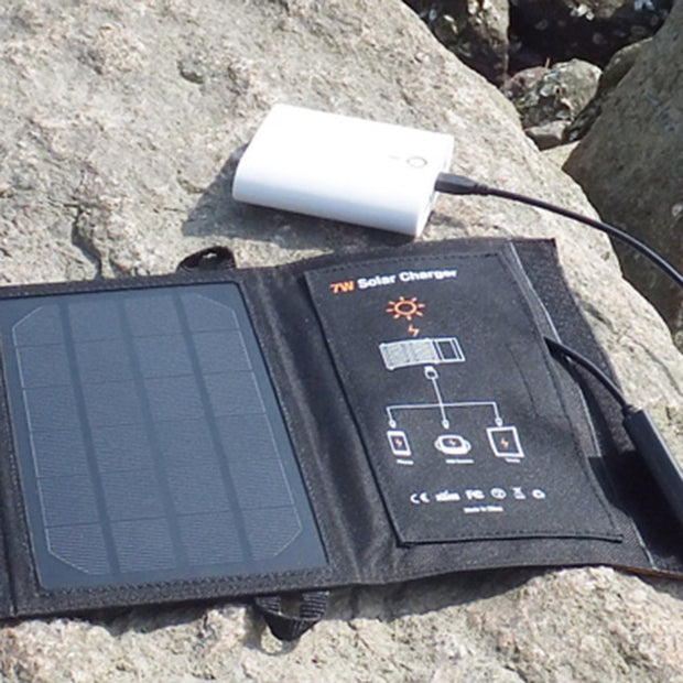 Cell Phone Portable Solar Panel Charger Bag