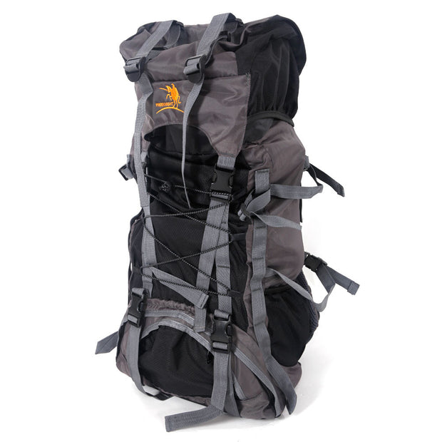 Outdoor Waterproof Hiking Camping Backpack Black (Free Knight SA008 60L)