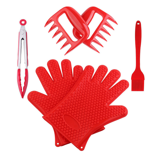 Grill Oven Tool Set Heat Resistant Premium Insulated