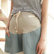 Summer Pregnant Women Jeans Lift Shorts