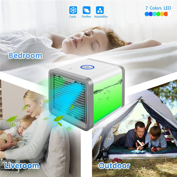 Mini Fans Air Cooler -This summer you say goodbye to the heat thanks to this innovative device