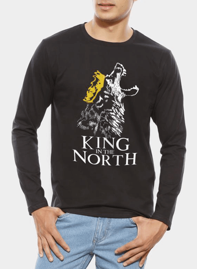 King In The North GOT Full Sleeves T-shirt