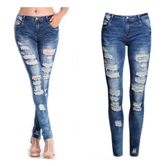 Scratched Jeans - bestofclothingstore
