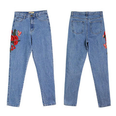 Embroidery Jeans - Best of Clothing