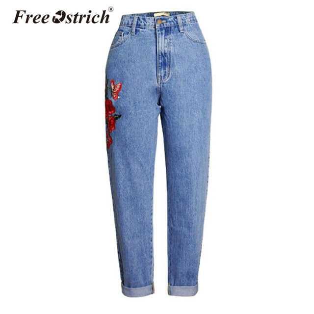 Embroidery Jeans - bestofclothingstore
