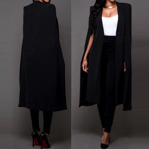 Long Cloak Blazer - Best of Clothing