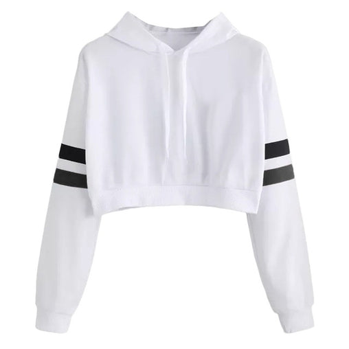 Casual Crop Hoodie - Best of Clothing