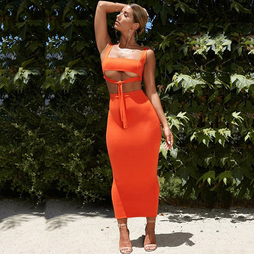 NewAsia Sexy Two Piece Set 2 Piece Set Women Two Piece Outfits Crop Top And Skirt Set Bodycon Matching Sets Summer Clothes 2019 - bestofclothingstore