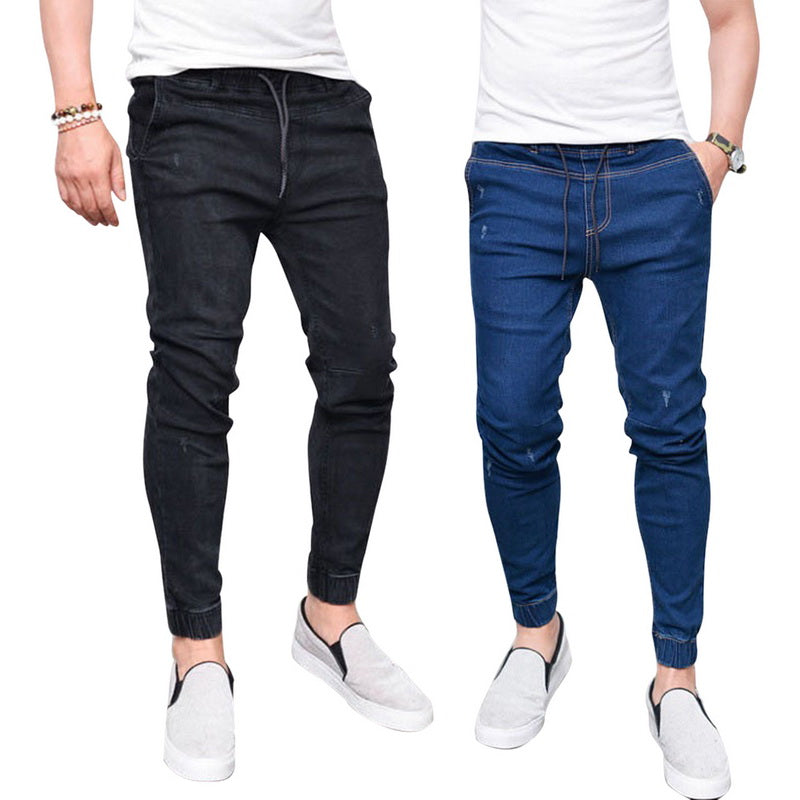 Washed Denim Trouser - Best of Clothing
