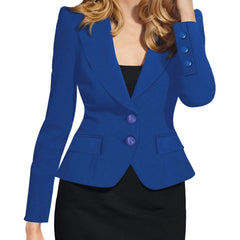 Slim Fit Blazer - Best of Clothing