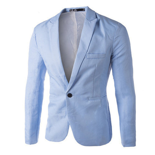 One Button Blazer - Best of Clothing