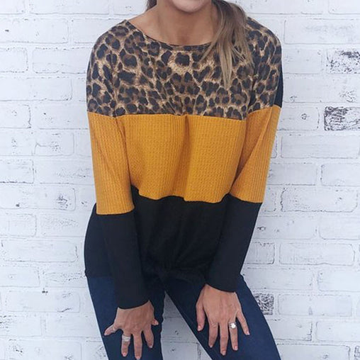 Leopard Sweater - Best of Clothing