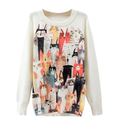 Cat Sweater - bestofclothingstore