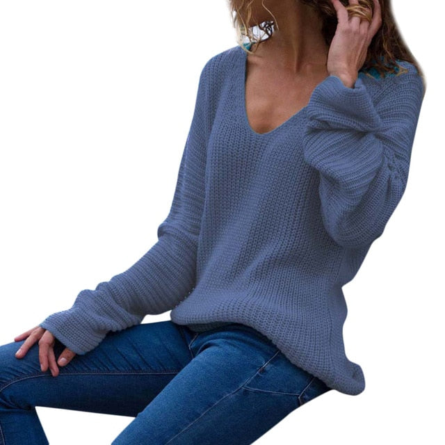 Solid Sweater - Best of Clothing