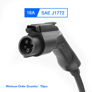 EMOVETECH Type 1 SAE J1772 EV Charger Plug for Electric Vehicle Charging