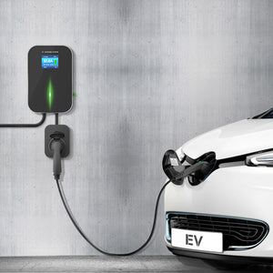EV Charging Station with Type 2 Socket