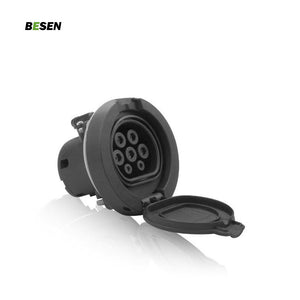 IEC 62196-2 Type 2 EV Charging 4 fixed Socket