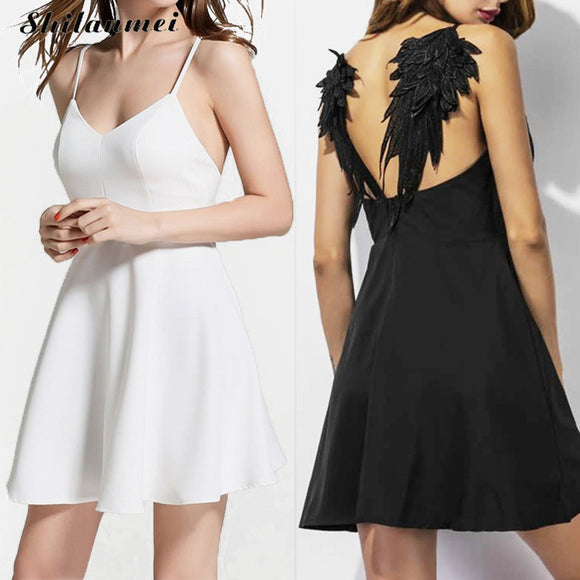 Dark Angel Wing Dress - Gothic Fix