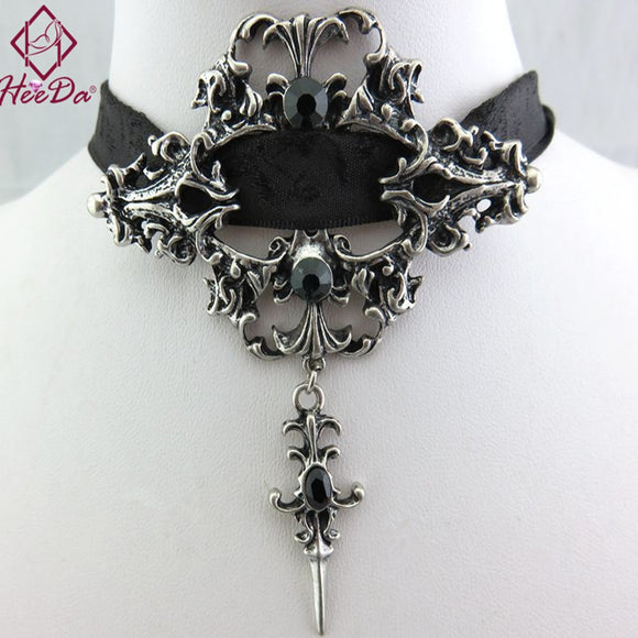 Gothic Victorian Choker Necklace - Gothic Fix