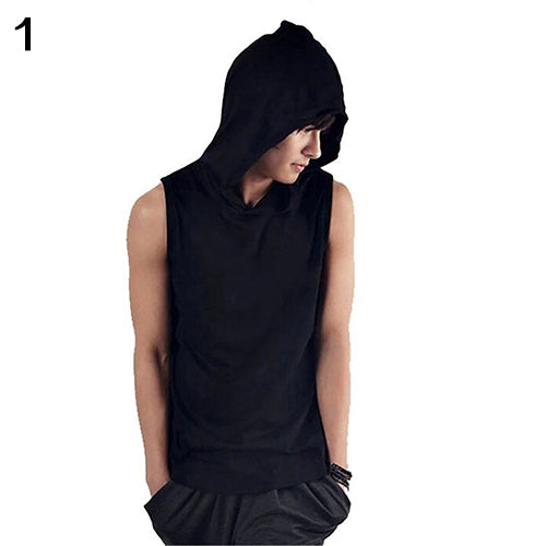 Hoodie Muscle Shirt - Gothic Fix
