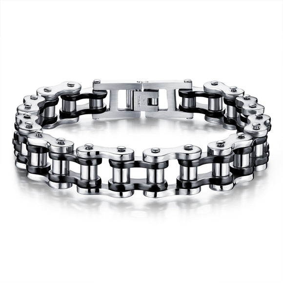 Motorcycle Chain Link Bracelet - Gothic Fix