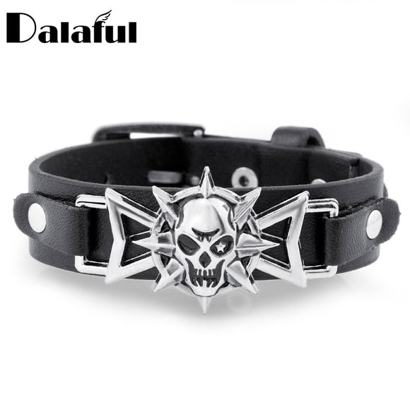 Star Eye Skeleton Bracelet by Dalaful - Gothic Fix