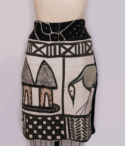Khorogo Mudcloth Pencil Skirt