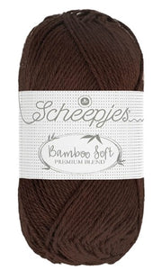 Scheepjes Bamboo Soft - 257 Smooth Cocoa - tinsiMink