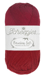 Scheepjes Bamboo Soft - 259 Majestic Red - tinsiMink