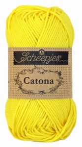 Scheepjes Catona Colours 100 to 399