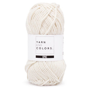 yarn and colors epic - 002 cream - tinsimink