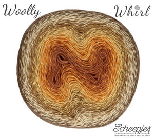 Scheepjes Woolly Whirl - 471 Chocolate Vermicelli - Tinsimink
