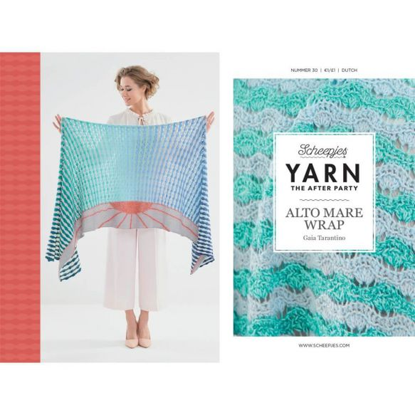YARN The After Party No.30 :: Alto Mare Wrap