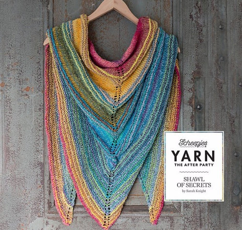 YARN The After Party No.06 :: Shawl of Secrets