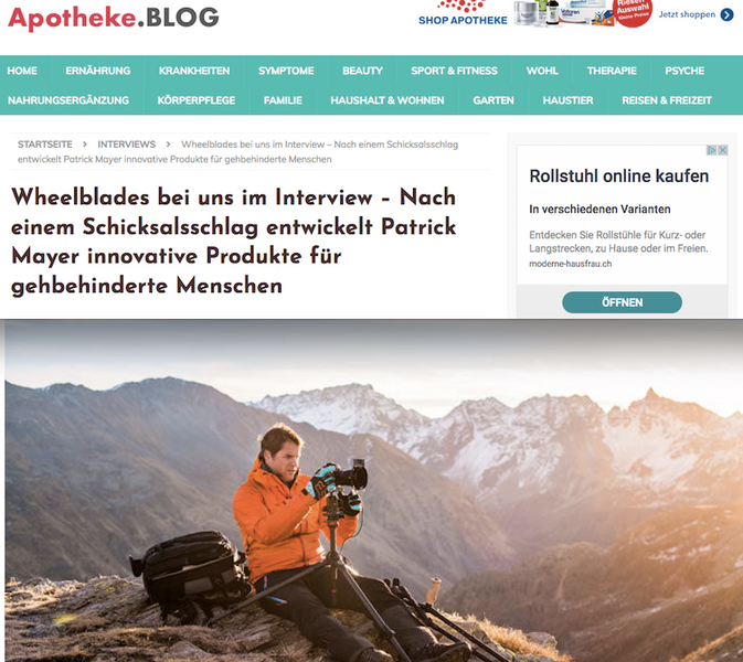 Patrick Mayer im Interview mit Apotheke.BLOG