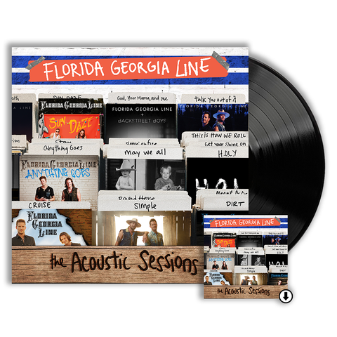 The Acoustic Sessions LP + Digital Album