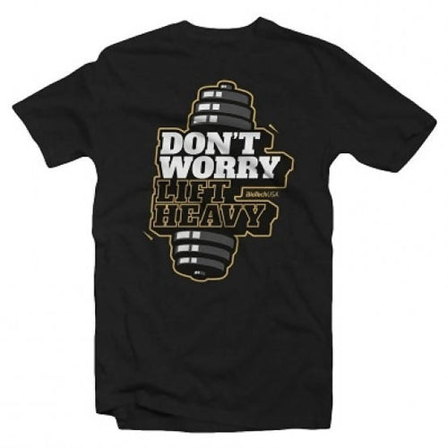 T-shirt Don't Worry noir