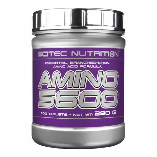 Amino 5600 200 tablettes Scitec Nutrition