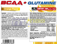 Charger l'image dans la galerie, Bcaa+Glutamine 500g Quamtrax