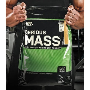 Serious Mass 5,45kg Optimum Nutriton