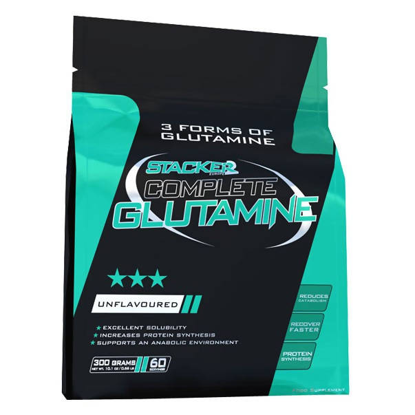Glutamine 300g Stackers