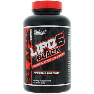 Lipo 6 black concentrate 120 capsules Nutrex