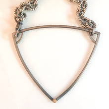 Load image into Gallery viewer, diamond triangle necklace