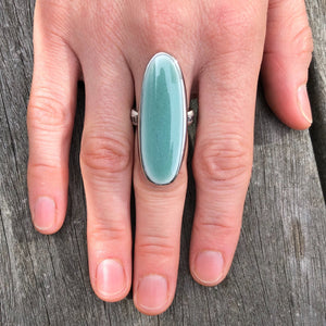 ceramic oval ring