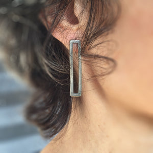 diamond bridge earrings