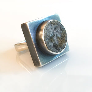 ceramic square box ring