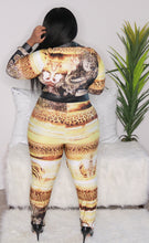 Load image into Gallery viewer, Wildcat - Animal Print Jumpsuit