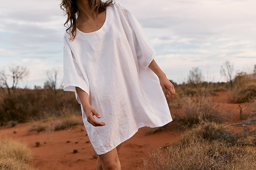 Opia Bailey Oversized Smock Dress