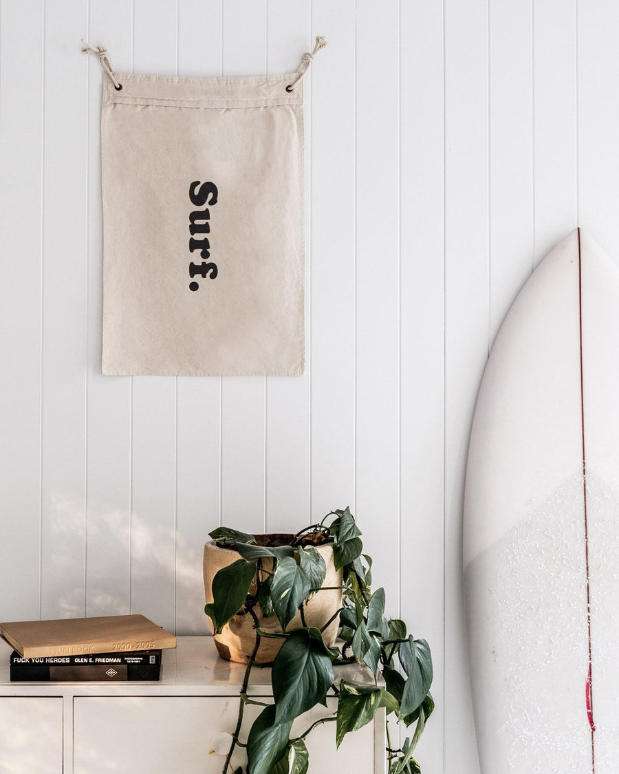 Rose Street Supply Surf Wall Flag (small)
