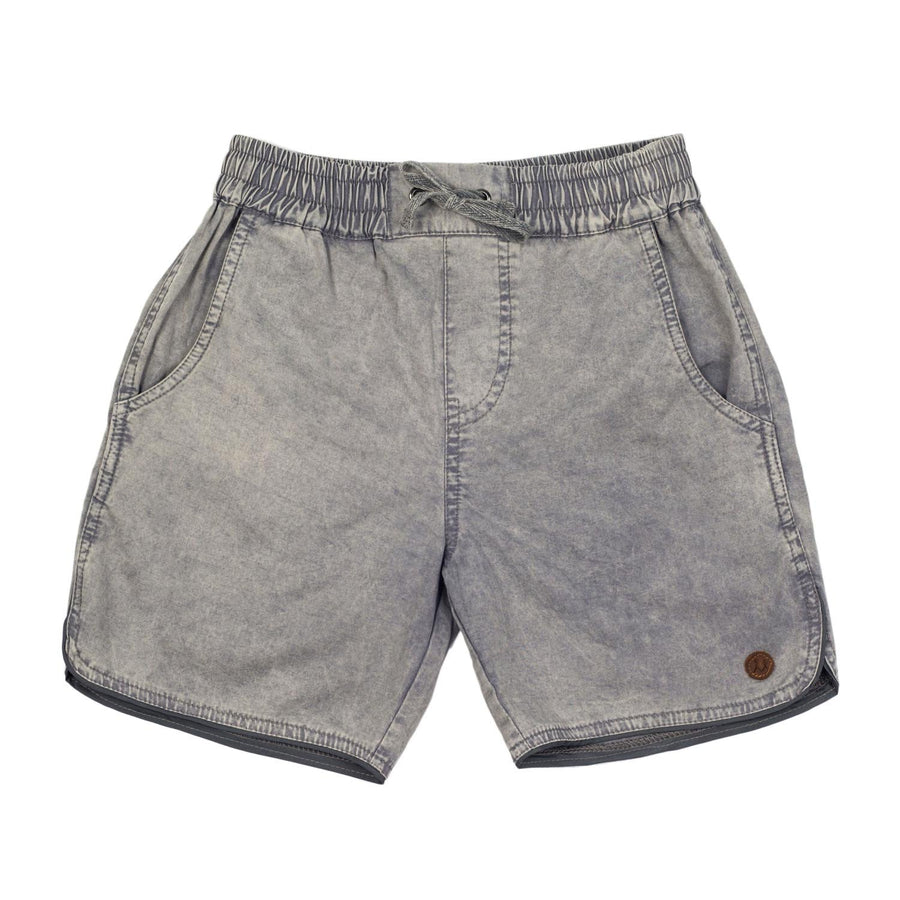 Children of The Tribe Grey Drawstring Shorts